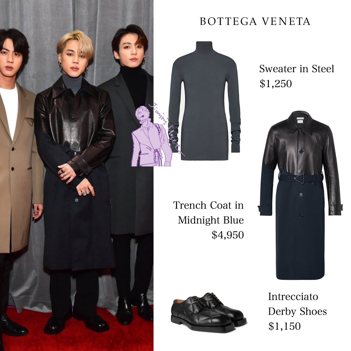 200126 62nd annual grammy awards red carpet bottega veneta kpop profiles makestar 200126 62nd annual grammy awards