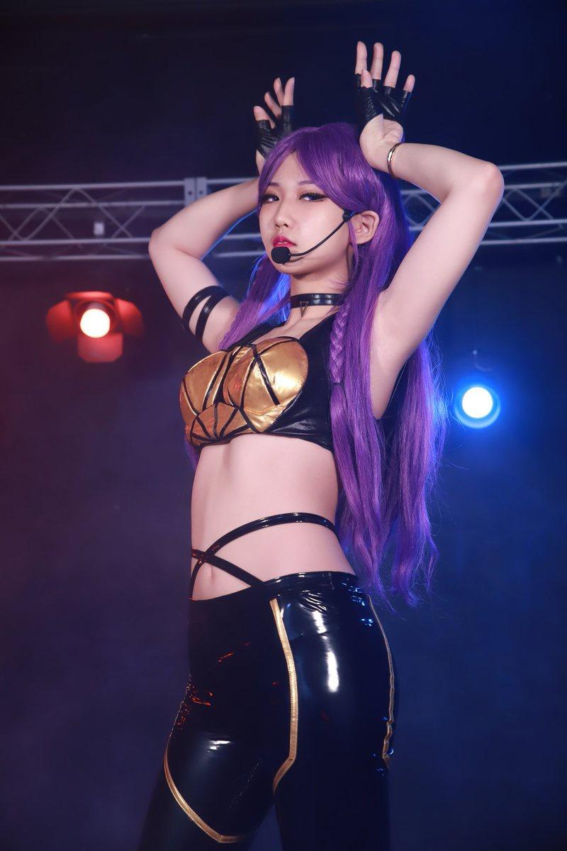 ✨200216 LOL K/DA 카이사 (3)✨ - Photo. - Studio. - KaiSa. They could try, but we're gonna wear the crown - K/DA, 'POP/STARS' 中