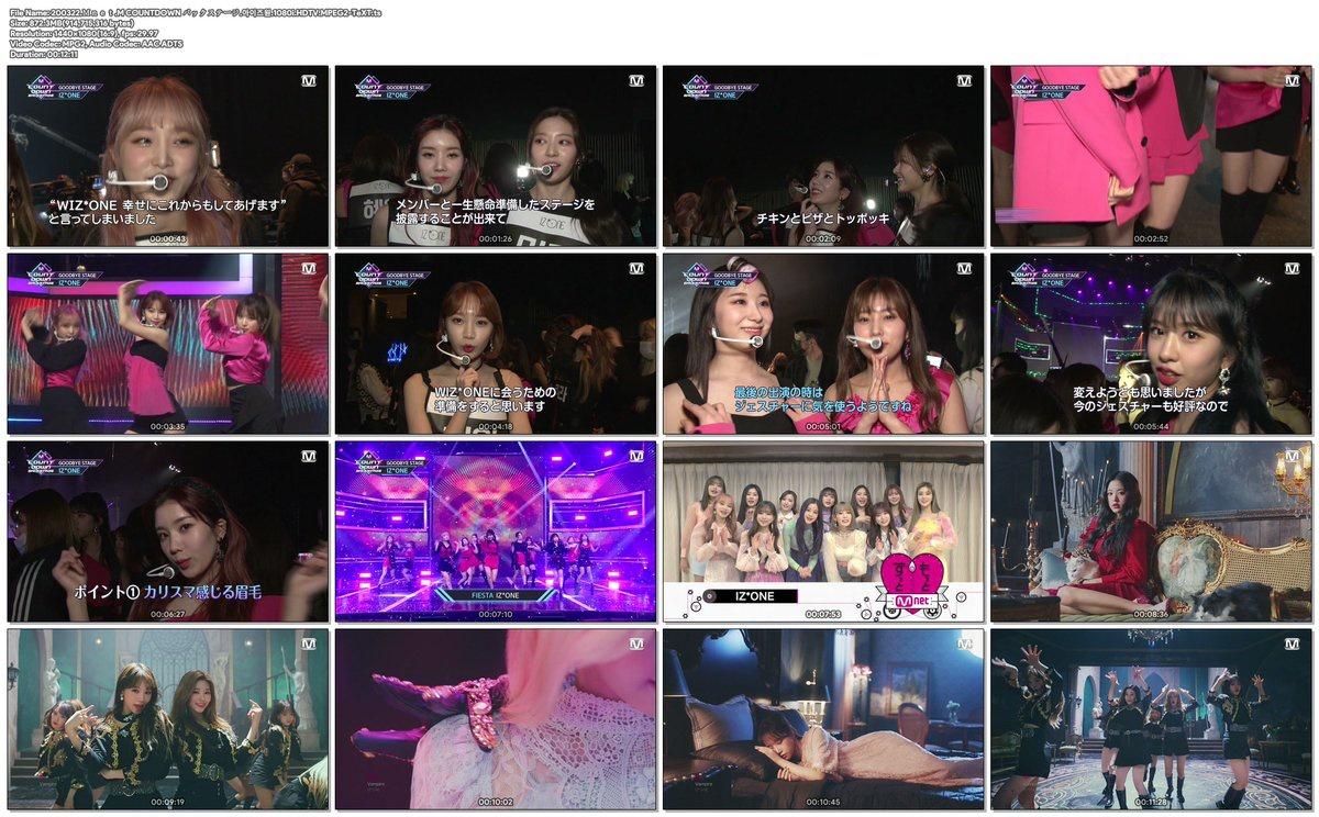 200322 Mnet Japan M Countdown Backstage IZ*ONE 1080i: … 1080p60: …