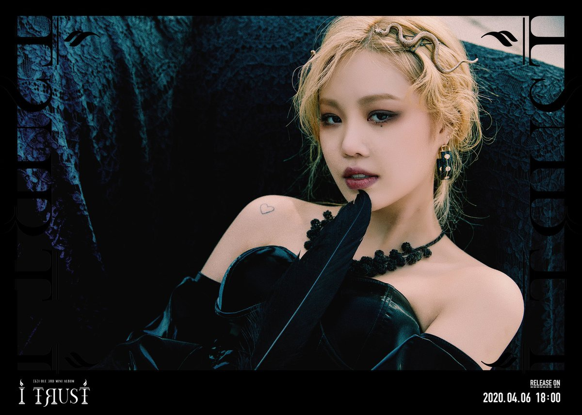 "[OFFICIAL] 200331 - (G)I-DLE 3rd Mini Album ""I trust"" True Ver. Concept Image"