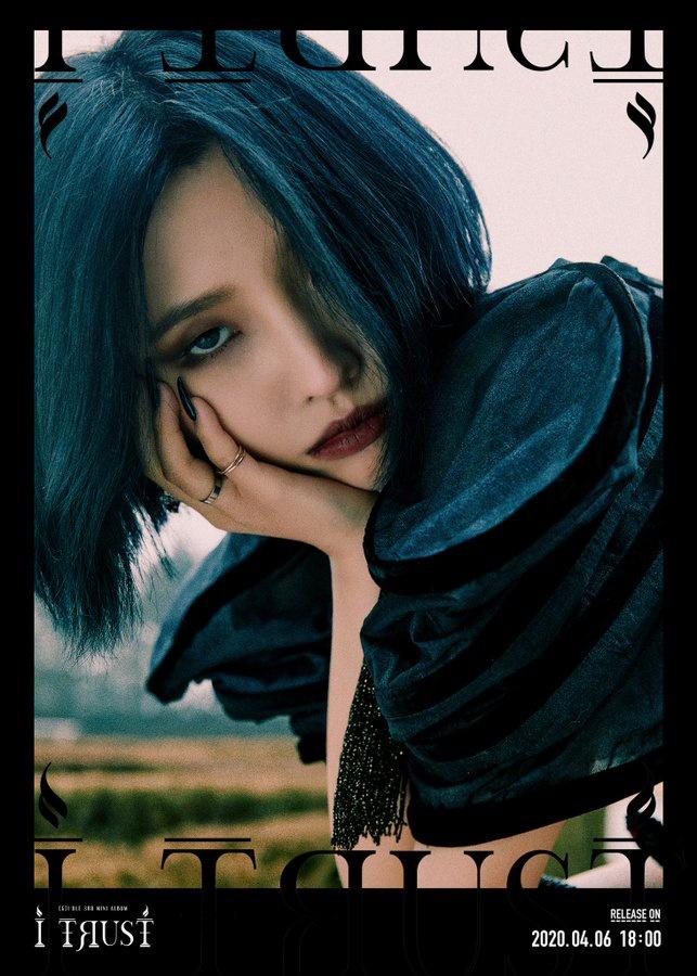 """[OFFICIAL] 200331 - (G)I-DLE 3rd Mini Album """"I trust"""" True Ver. Concept Image"""
