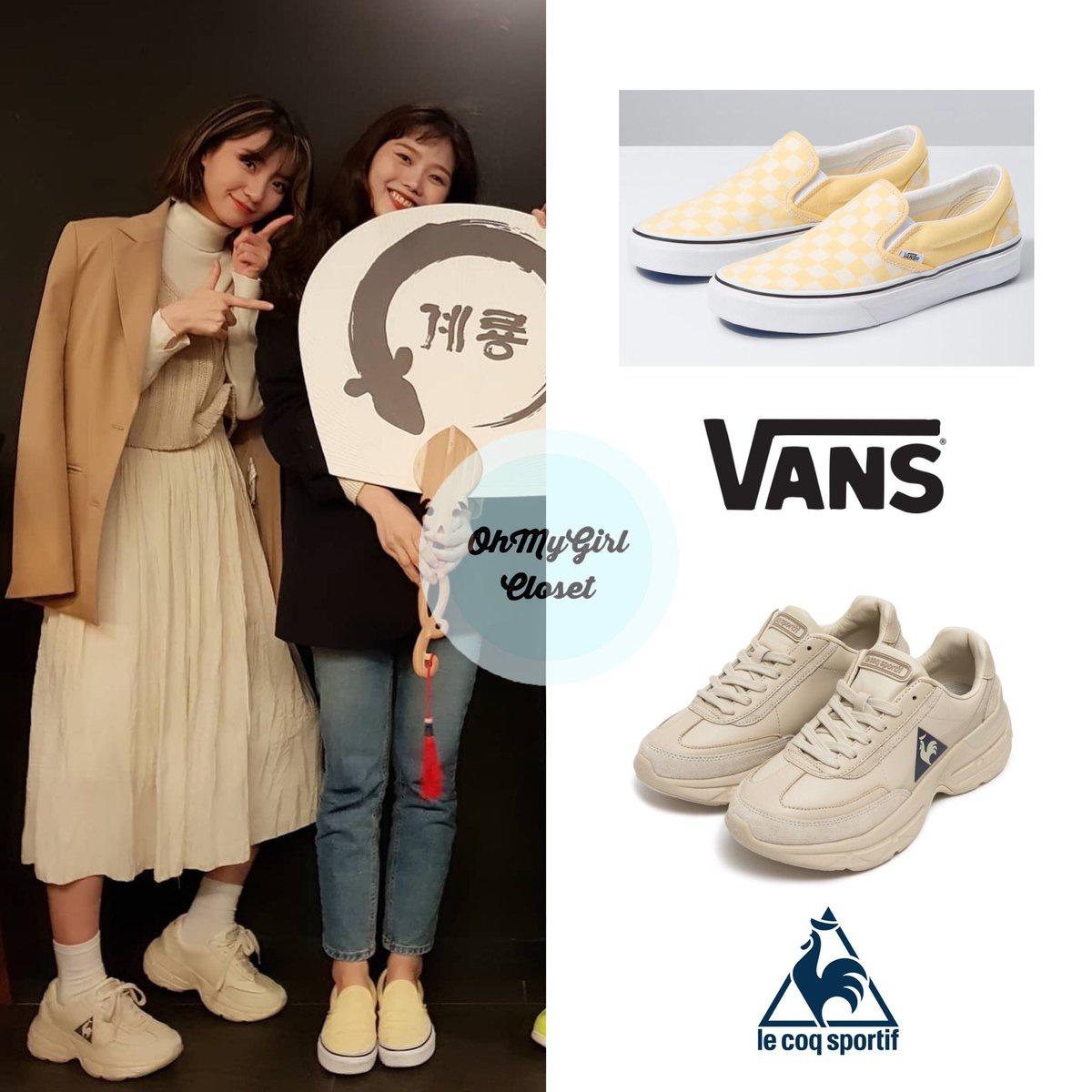 200409 & on gyeryongfood instagram post wearing Vans ...