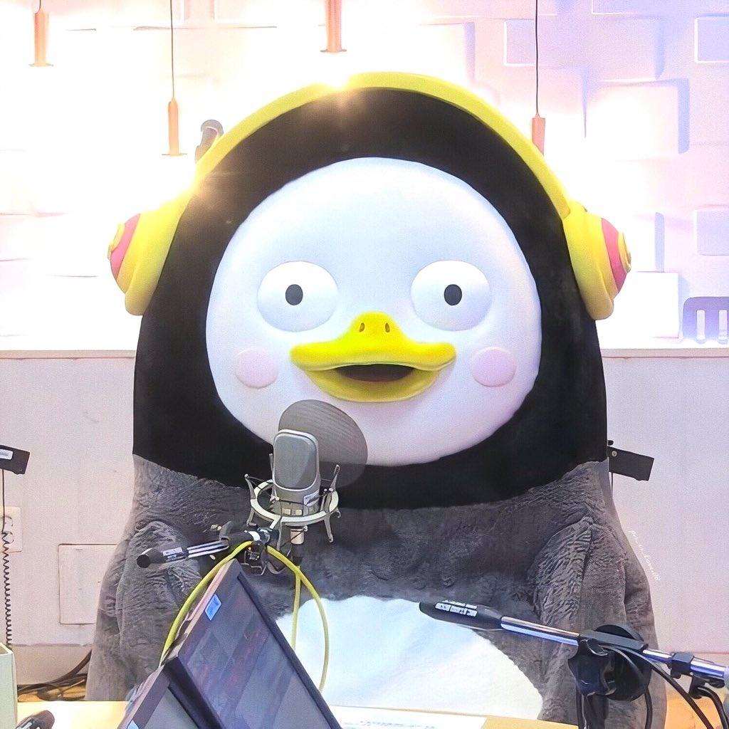 200423 귀여운 펭수 ❤️💕 - 펭수 라디오 나온 날 Full 영상 보다가 캡처한 사진 중 2개의 캡처 📸 - - - [🚫로코크롭🚫]