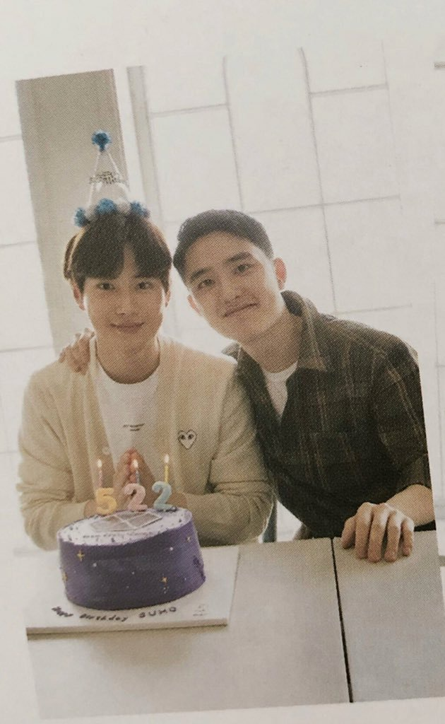 200522 Happy Birthday to our SUHO 🎂