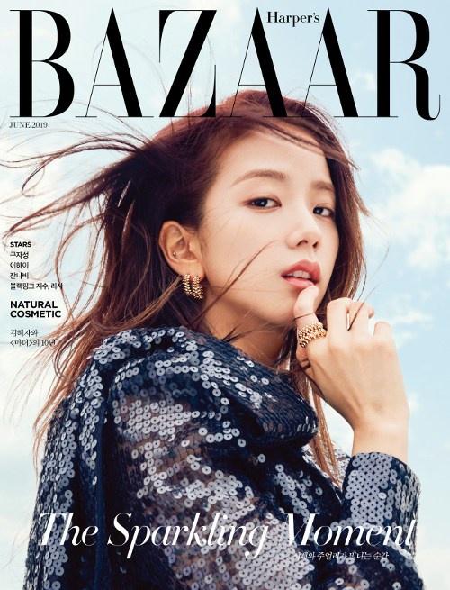 [22.05.2019 KST - Hace 1 año] y en la edición de junio de Harper's BAZAAR Korea.