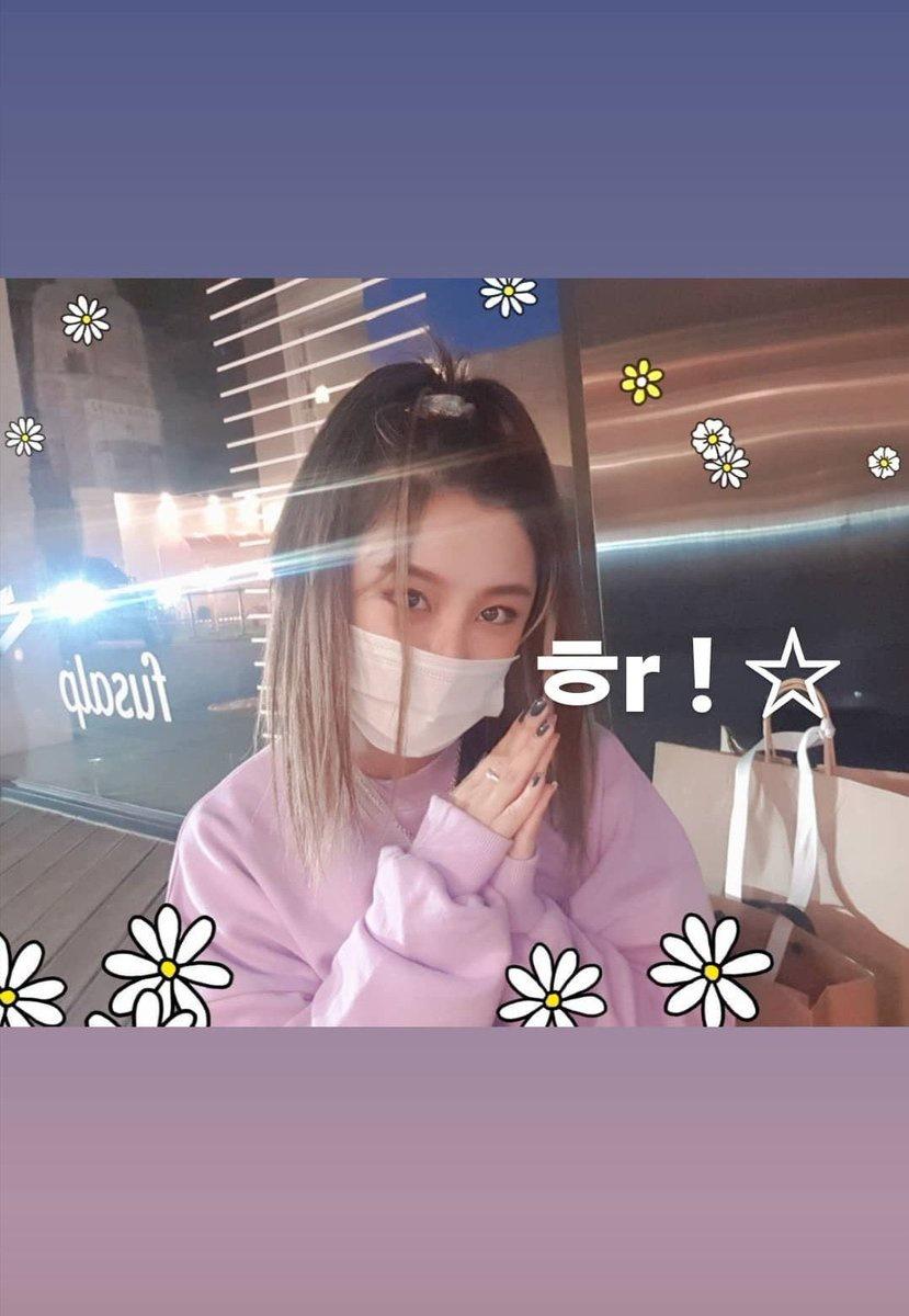 [200529] Atualização de um Instastorie da Wheein no seu Instagram Pessoal!