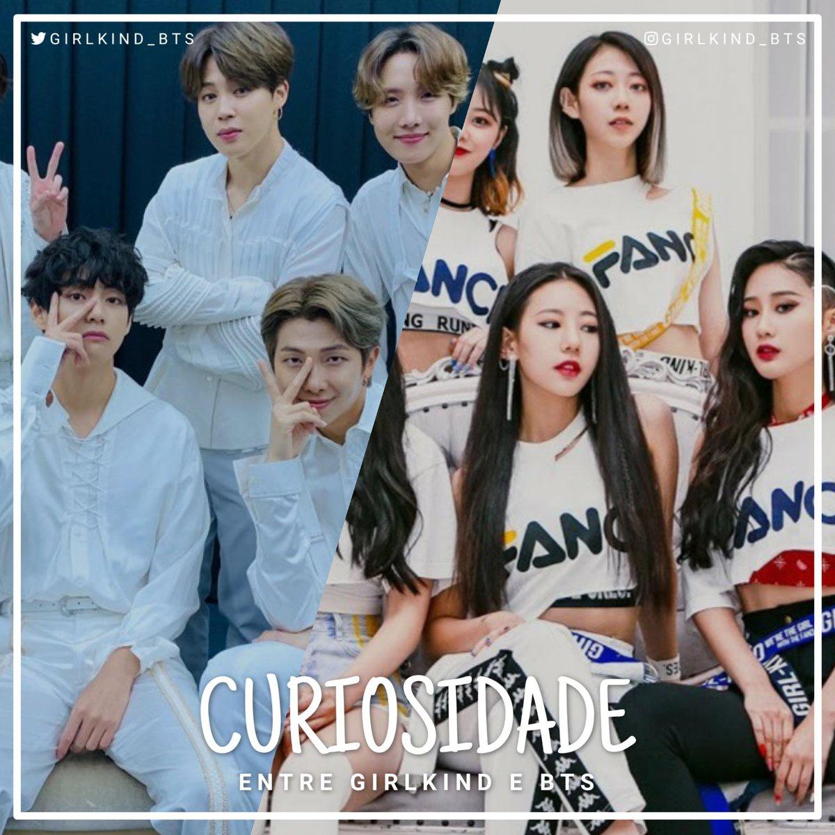 CURIOSIDADE ENTRE GIRLKIND E BTS O BTS lançou o single 'Black Swan' no mesmo dia em que o GIRLKIND completou 2 anos de debut (17/01/2020). 🦢🖤