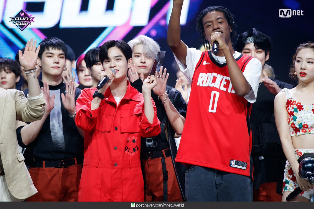 [200616] 200611 tarihli M Countdown yayınından MC Daehwi. 🔗