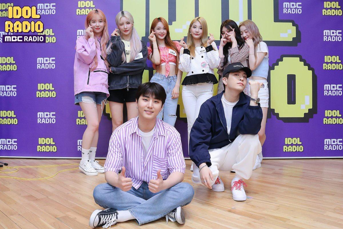 [200703] Youi ve Lara, üyeleri Raon ve Bian, üyeleri Nana ve Minseo, üyesi YoungK ve üyesi Youngjae'yle birlikte Idol Radio'dan. 🥰_2