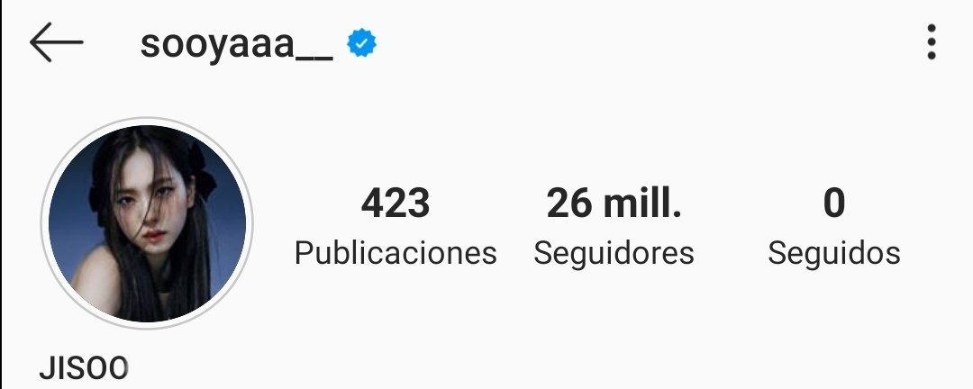 [⚠️] 200724 | La cuenta de Jisoo (sooyaaa__) en Instagram ha alcanzado los 26 millones de seguidores! 🥳🎉 📎 | 🧸_1