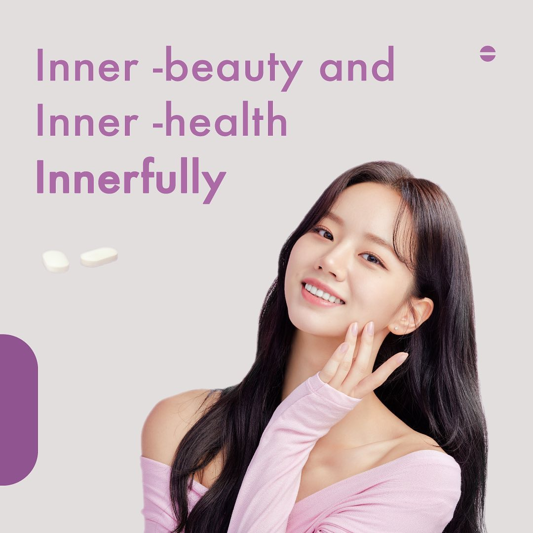 200803 Weekly Lab Instagram Update with Girls Day Hyeri! Inner beauty, inner health - innerfully 😍 Hyeri is beautiful inside and out. That's our power celebrity, Hyeri._1