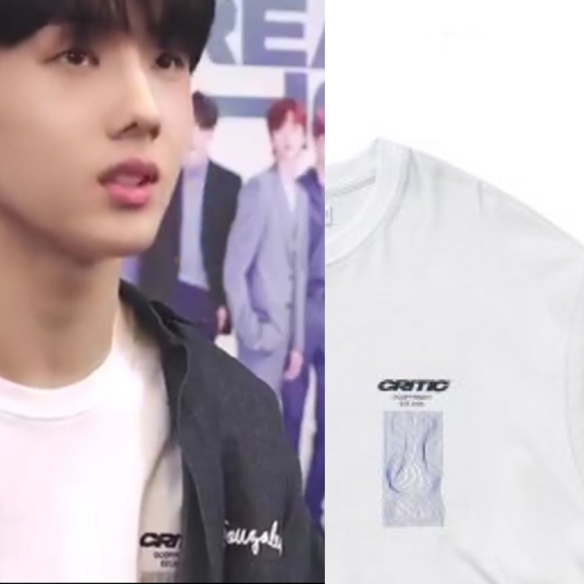 200806 NCT DREAM The Dream Show DVD Kit - 💚💙 (P.s : REPOST WITHOUT PERMISSION ❌) MARK GONZALES - Painted Box Logo Shirt Denim = ₩ 69,000 CRITIC - Wave Graphic Long Sleeve T-Shirt = ₩ 45,000_2
