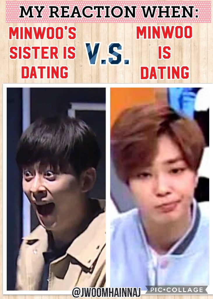 Me: 😒 Dont you dare MINWOO or else🙄 Ahahahhaah Credit to the Owner