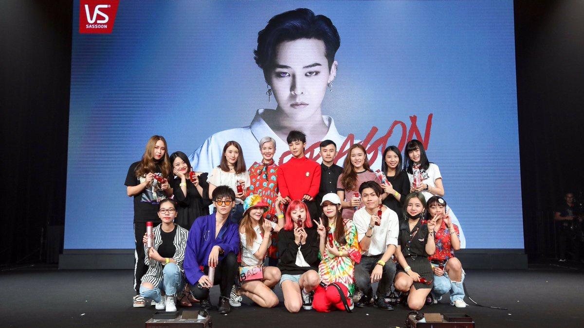 170909 - 3 years ago G-Dragon for VS Sassoon in Hongkong ❤_1