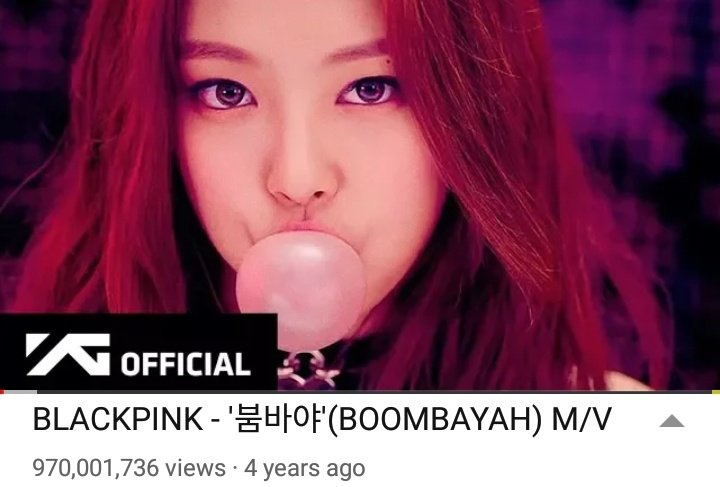 [🎉200915] 'BOOMBAYAH' Music Video has surpassed 970M views! 30M more. BLACKPINK's 3rd Billion is coming.🔥 [STREAM MORE BLINKS!!!]