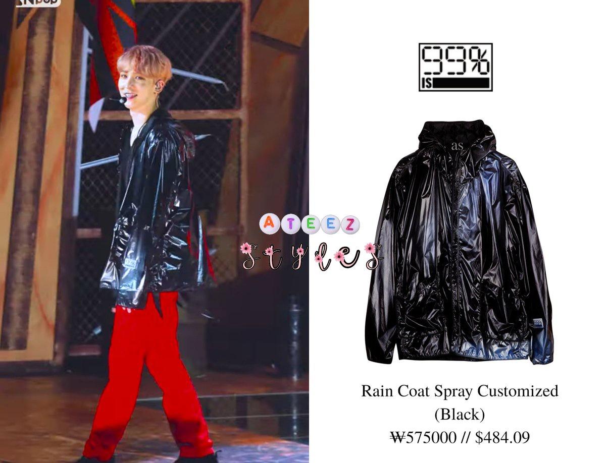 [200830] • SBS Inkigayo ➖ 🖇 Rain Coat Spray Customized 🔎 ➖