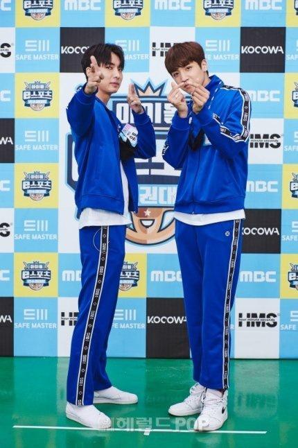 200914 - Fotos de Imprensa do Yuto e Wooseok no ISAC E-sports_1