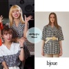191112 on OhMyGirl Wannabe Challenge teaser wearing bjoue - morgan check jacket ₩148,800