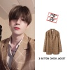 200202 INSTA 빅톤 한승우 착용 OUTER - [BADNINBAD] 3 BUTTON CHECK JACKET