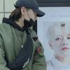 [200209] Changhyun fanların TREI'nin 1. Yıldönümü için metroda astıkları pankartın olduğu yere gidip fotoğraf paylaştı 😭💕