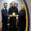 Our General Coordinator Mrs. Ayshegul Bayıcı and Public Relations Coordinator Mr. Umar Faruk Suju visited to TV 5 General Coordinator Mr. Mehmet Ali Kayajı. We thank him. 13.02.2020
