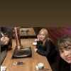 [200324] TWICETAGRAM Hikaye Güncellemeleri: MiSaMo birlikte yemek yemeye gitmişler. 🥰🥰