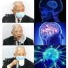 The most intelligent way for using a face mask 相關討論 - 前前前特首董伯伯表演戴口罩飲水 除口罩講野 ●來源:馬仔