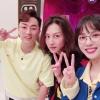 [PIC] 200508 ref_daehyun IG Update with Kim Heechul and Kim Minah😍😍💙