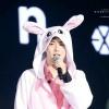 200522 Si hablamos de una faceta lúdica de inmediatamente pensamos en su alter ego, el conejo. Sus fans recibimos el nombre de Bunny citizens por lo mismo, ¿no? 