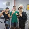 [200521 en instagram] . Amor fati con Aaron de W24 y HAYANA 💜Gracias, feel the fate y MP4💜 . . Trad: Gosuw24 |