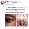[⚠️]200528 | una reconocida maquilladora, le dió me gusta a este tweet de un BLINK pidiendo que Rosé sea su próxima cara global.💖💄 ©️rosesrosienews [FC]