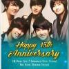 Happy 15th Anniversary 💚💚[08.06.2020] Gracias a por permitirnos participar 🥳 Thanks so much Cr: FAN N STAR