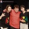 [PICS] 200618 kbsn_official IG Update with Kim Heechul, Kim Minah, and Hyun Jinyoung😍💙💜_1