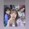 ˗ˏˋ 04/07/2020 ˎˊ˗ ➮ Doyeon's instagram storys repost (lafilledhiver_) with Yoojung & Mina. ✎ . . . Mina, Yoojung & Doyeon ♡