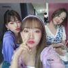 ˗ˏˋ 04/07/2020 ˎˊ˗ ➮ Mina's instagram storys update (_happiness_o) with Yoojung & Doyeon. ✎ . . . Mina, Yoojung & Doyeon ♡