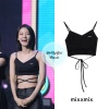 200605 - fanmeeting wearing mixxmix - hide string sleeveless top ₩25,000
