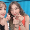 200707 Dara's Instagram and Twitter Update with Minzy during the Video Star filming_1