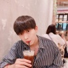 200801 Jinseok's IG update Long time no updated! In a rainy day ice americano🙆🏻♂️_3