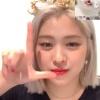 【200909】Ryujin video call 💙LOVE🤩 cr.:weibo 0livert    _1
