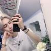 {TRAD} 200909 Twitter [IF] Selca😛 En el espejo 😶 Panda melocotón🙃 Tened un buen día CU:KEY✌🏻 IF PlayList : Moony - Swimming_2