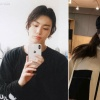 JK X somi 191010 SOMKOOK UPDATES ! Look who's back giving us love content. Jungkook copying Somi again. That iPhone and clear case hmm. Also yesterday Jungkook and Somi posted 2 selcas. BTS Jungkook twitter. Somi Instagram_2