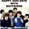 Happy 3400 Days with BOYFRIEND
