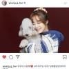 200914 ヨンジ Instagram / young_g_hur 訳:ウジュ(犬の名前) 愛してる❤️ 〈ウジュとは韓国語で宇宙という意味〉 …_1