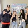 [FOTO] 15.09.2020 - atualizou sua conta no Instagram com fotos dos membros após a live de hoje mais cedo Legenda: Obrigado(a) por nós apoiar nas promoções de GUNSHOT ❤️_3