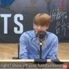 """[200914] BTS, no programa de rádio """"Bae Chulsoo's Music Camp"""" 📷 O Jin ficou tímido, após receber elogios 🥺 cr:_2"""