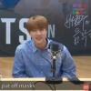 """[200914] BTS, no programa de rádio """"Bae Chulsoo's Music Camp"""" 📷 O Jin ficou tímido, após receber elogios 🥺 cr:_1"""