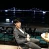 •TRAD• 200916 Twitter [Di1e] Mar de Busan de noche~🎵 Quería enseñaroslo CU:KEY🤗_1