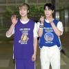 📷| 160920 | TWITTER Des photos de presse de Moon Bin et San-Ha, lors de leur arrivée au Show Champ ont été publiées. cr. Voir sur les photos Sab | Astroha_France_1