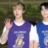 📷| 160920 | TWITTER Des photos de presse de Moon Bin et San-Ha, lors de leur arrivée au Show Champ ont été publiées. cr. Voir sur les photos Sab | Astroha_France_2