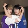 📷| 160920 | TWITTER Des photos de presse de Moon Bin et San-Ha, lors de leur arrivée au Show Champ ont été publiées. cr. Voir sur les photos Sab | Astroha_France_4